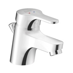 American Standard Concept Round Basin Mixer Tap With Pop-up Drain