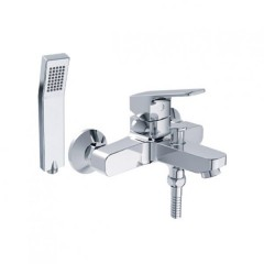 American Standard Concept Square Exposed Bath Mixer With Shower Kit