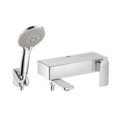 American Standard Acacia Evolution Exposed Bath Mixer With Shower Kit