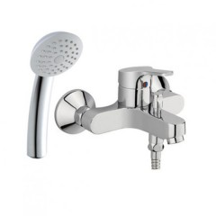 American Standard Concept Round Exposed Bath Mixer With Shower Kit