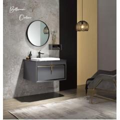 Becker 800MM Stainless Steel Bathroom Vanity With Mirror