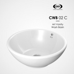 AER Round Art Counter Top Basin