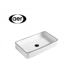 AER Rectangular Counter Top Basin