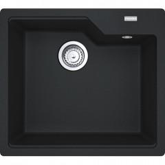 Franke Urban 503mm Granite Single Bowl Sink In Onyx