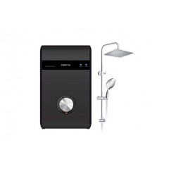 Mistral Instant Heater With Rain Shower Set