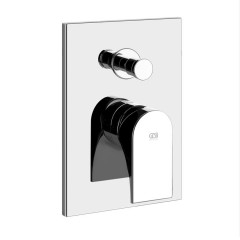 Gessi Emporio Solferino Concealed Bath Mixer With Built In Part For Two Way Mixer