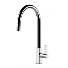 Gessi Cucinai Single Lever Kitchen Mixer Tap With Pull Out Spout