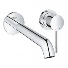 Grohe Essence Two-Hole Wall Mounted Concealed Basin Mixer Tap L-Size