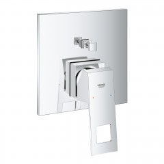 Grohe Eurocube Single-Lever Mixer With 2-Way Diverter