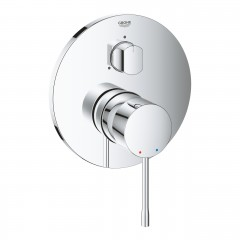 Grohe Essence Single-Lever Mixer With 3-Way Diverter