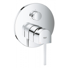 Grohe Plus Single-Lever Concealed Shower Mixer With 3-Way Diverter