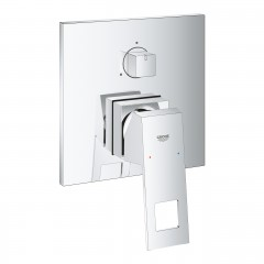 Grohe Eurocube Single-Lever Mixer With 3-Way Diverter