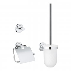 Grohe Essentials City Restroom Accessories Set 3-in-1 Chrome