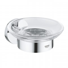 Grohe Essentials Soap Dish With Holder In Chrome