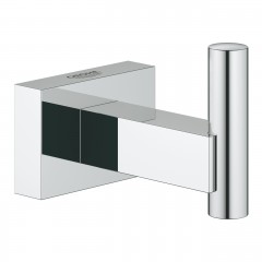 Grohe  Essentials Cube Robe Hook In Chrome