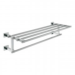 Grohe Essentials Cube Multi Towel Rack In Chrome