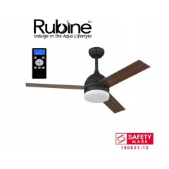 "Rubine Econ 52"" Ceiling Fan With 24W Led & Remote"