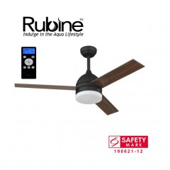 "Rubine Econ 42"" Ceiling Fan With 24W Led & Remote"