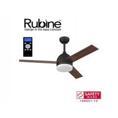 "Rubine Econ 48"" Ceiling Fan With 24W Led & Remote"