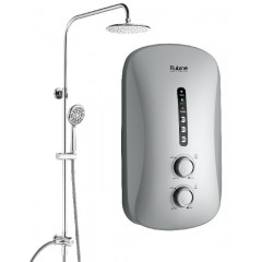 Rubine Instant Heater With Rain Shower