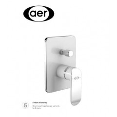 AER Concealed Two Way Mixer Tap