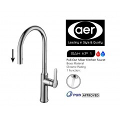 AER Kitchen Mixer tap with Pull Out Function