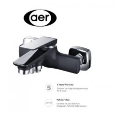 AER Bath Mixer Tap Lx Series Matte Black