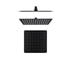 Boshsini Rain Shower Head In Matte Black