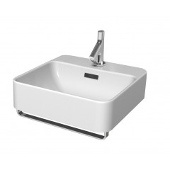 Kohler Forefront Wall-Hung Basin With Towel Bar And Single Faucet Hole