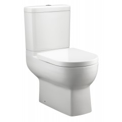 Kohler Odeon Up Dual Flush Two-Piece Toilet With Quiet Close Seat
